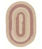 RugStudio presents Colonial Mills Deerfield DF91 Taupe Braided Area Rug